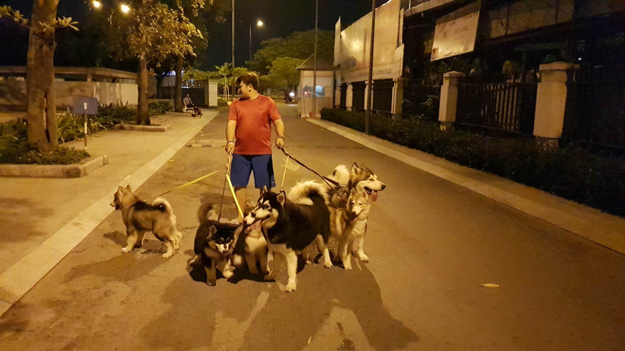 Câu chuyện cảm động về chú chó Alaska thông minh, cứu cả gia đình chủ trong đám cháy kinh hoàng tại chung cư ở Sài Gòn - Ảnh 5.