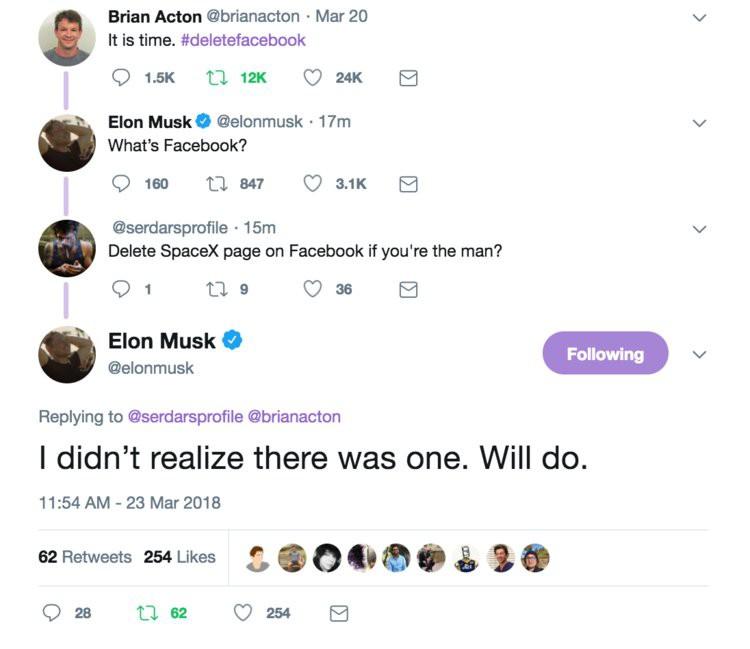 Mặc cho Mark Zuckerberg xin lỗi, Elon Musk vẫn xóa luôn 2 page Facebook triệu like của công ty vì ông thích thế - Ảnh 1.