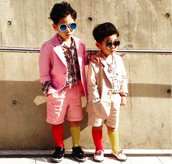Đến hẹn lại lên, loạt nhóc tì khuấy đảo Tuần lễ Thời Trang Seoul 2018 với loạt street style cực chất cùng thần thái pose ảnh còn hơn cả người lớn - Ảnh 12.
