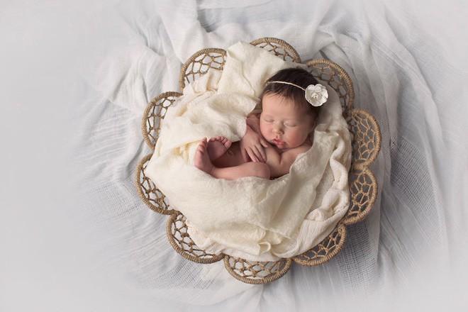 Ngất ngây với chùm ảnh những em bé sơ sinh cuộn tròn say ngủ - Ảnh 29.