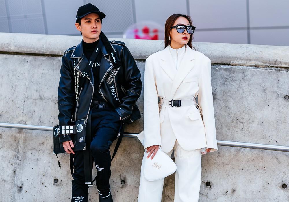 Giới trẻ Hàn Quốc luôn mặc đẹp nhưng chỉ tại Seoul Fashion Week, người ta mới có thể bắt gặp nhiều anh tài street style hội tụ đến thế - Ảnh 4.