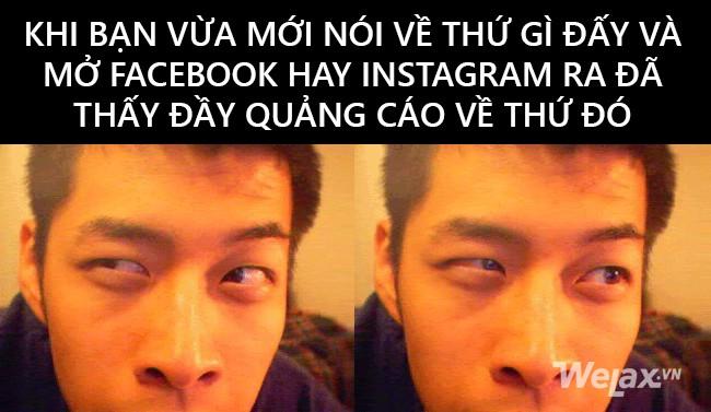 Chuyện khó tin nhưng ai cũng gặp: Nhắc đến cái gì là Facebook với Instagram hiện lên cái đấy - Ảnh 1.