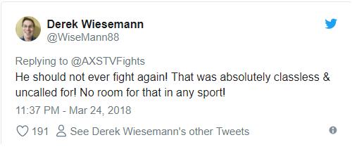 Võ sĩ MMA bị ném đá sau màn giẫm lên lưng đối thủ ăn mừng chiến thắng - Ảnh 4.