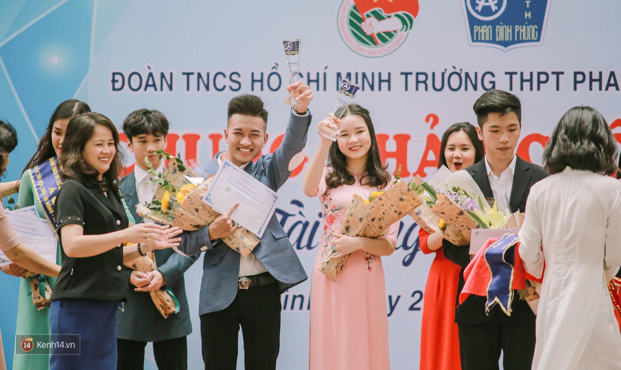 Cuộc thi Học sinh thanh lịch của Phan Đình Phùng tìm được cặp Đại sứ mới, hot boy cầm cờ chiếm spotlight - Ảnh 5.