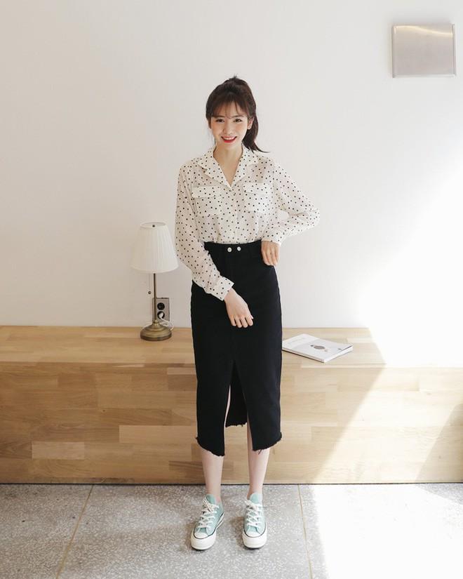 Cần gì đầu tư cầu kỳ, chân váy dài chính là bảo bối hợp cả thời trang lẫn thời tiết dành cho nàng công sở - Ảnh 15.