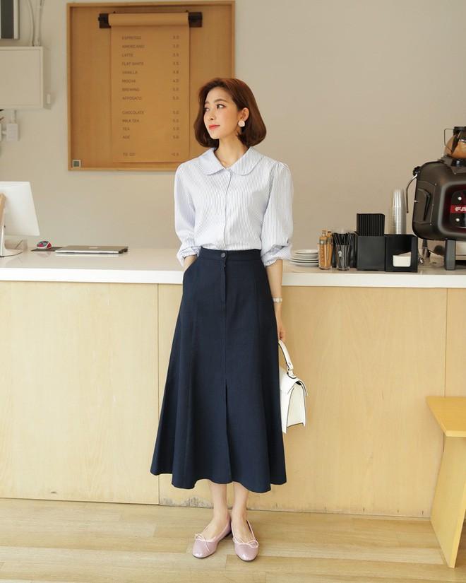 Cần gì đầu tư cầu kỳ, chân váy dài chính là bảo bối hợp cả thời trang lẫn thời tiết dành cho nàng công sở - Ảnh 5.