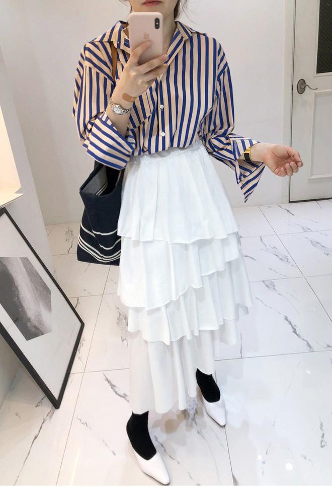 Cần gì đầu tư cầu kỳ, chân váy dài chính là bảo bối hợp cả thời trang lẫn thời tiết dành cho nàng công sở - Ảnh 7.