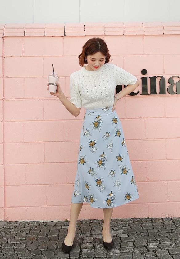 Cần gì đầu tư cầu kỳ, chân váy dài chính là bảo bối hợp cả thời trang lẫn thời tiết dành cho nàng công sở - Ảnh 10.