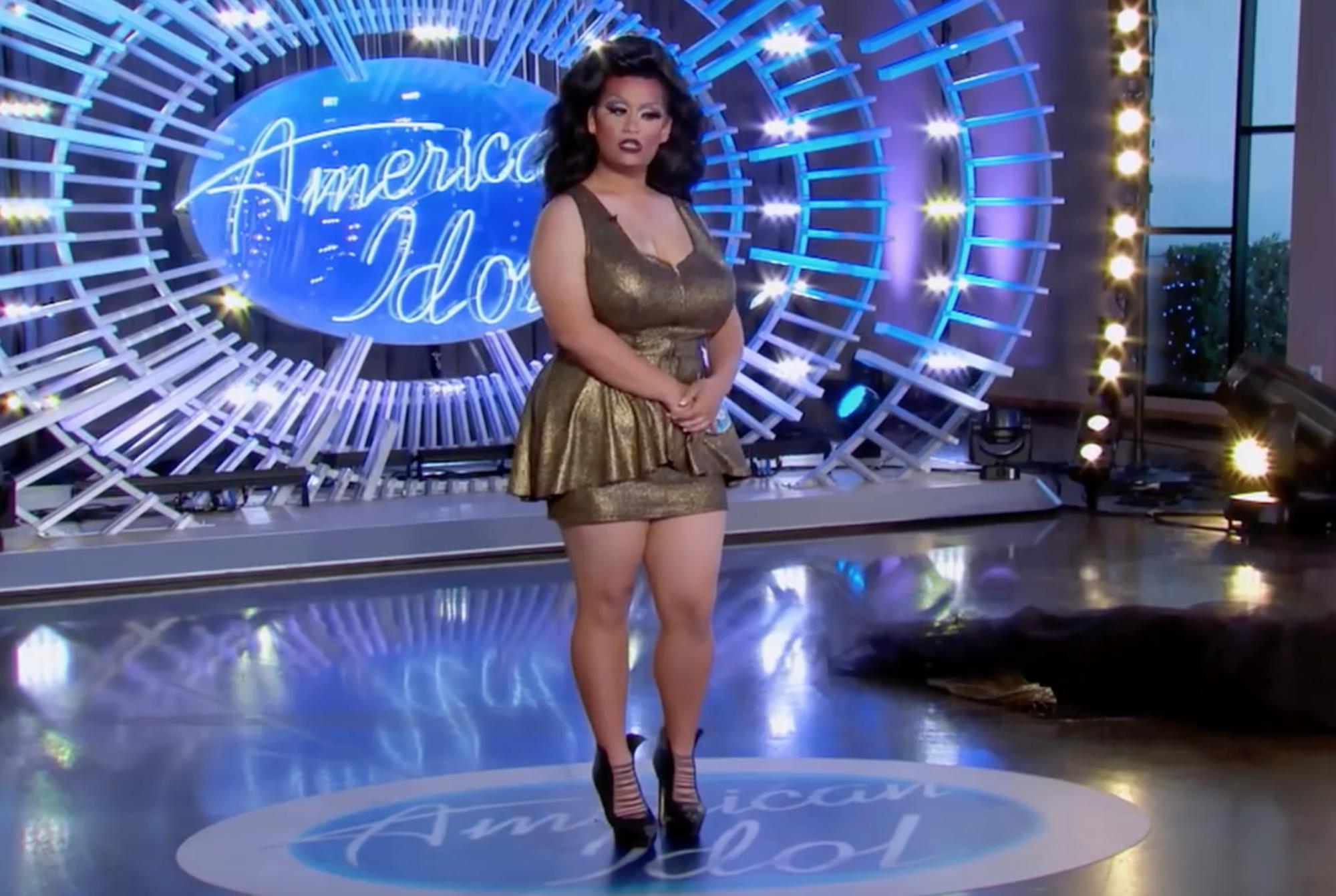 Katy perry's sexiest american idol looks