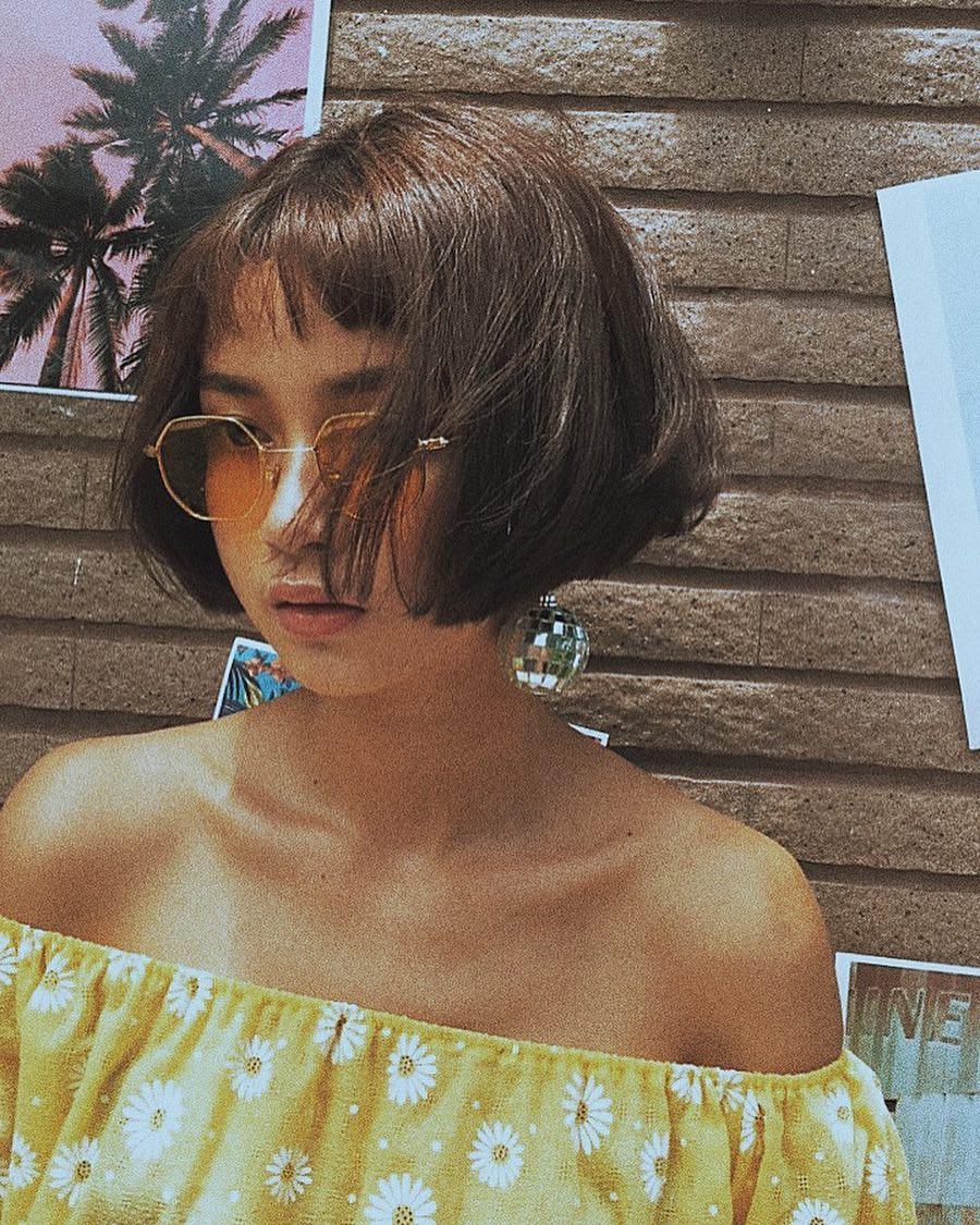 Tạm cất kính mắt gọng to đi nào, hè này bạn phải diện 4 kiểu kính gọng mảnh như các hot girl châu Á mới là đúng mốt - Ảnh 16.