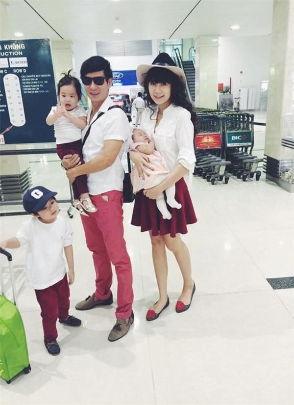 Không xa hoa sang chảnh, Lý Hải cùng các con tổ chức sinh nhật giản dị cho bà xã Minh Hà - Ảnh 6.