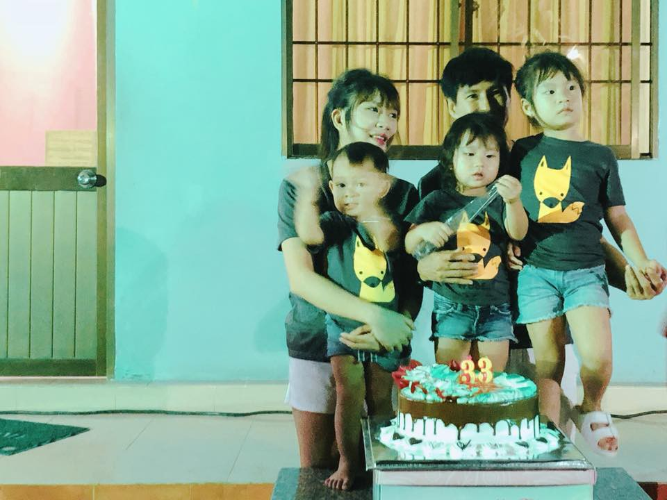 Không xa hoa sang chảnh, Lý Hải cùng các con tổ chức sinh nhật giản dị cho bà xã Minh Hà - Ảnh 3.