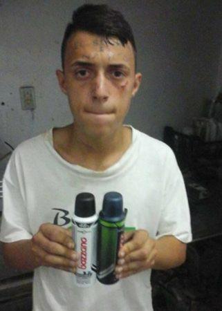 Thanh niên Brazil nổi tiếng vì hình xăm Tôi là kẻ trộm trên trán vừa bị bắt vì tội... ăn trộm - Ảnh 3.
