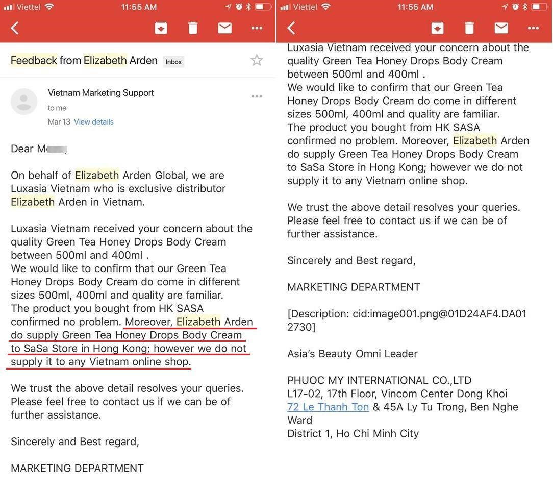 Shop mỹ phẩm liên quan đến Changmakeup bị tố bán hàng fake, nhãn hàng tuyên bố: chúng tôi không hợp tác với shop online nào ở Việt Nam - Ảnh 4.