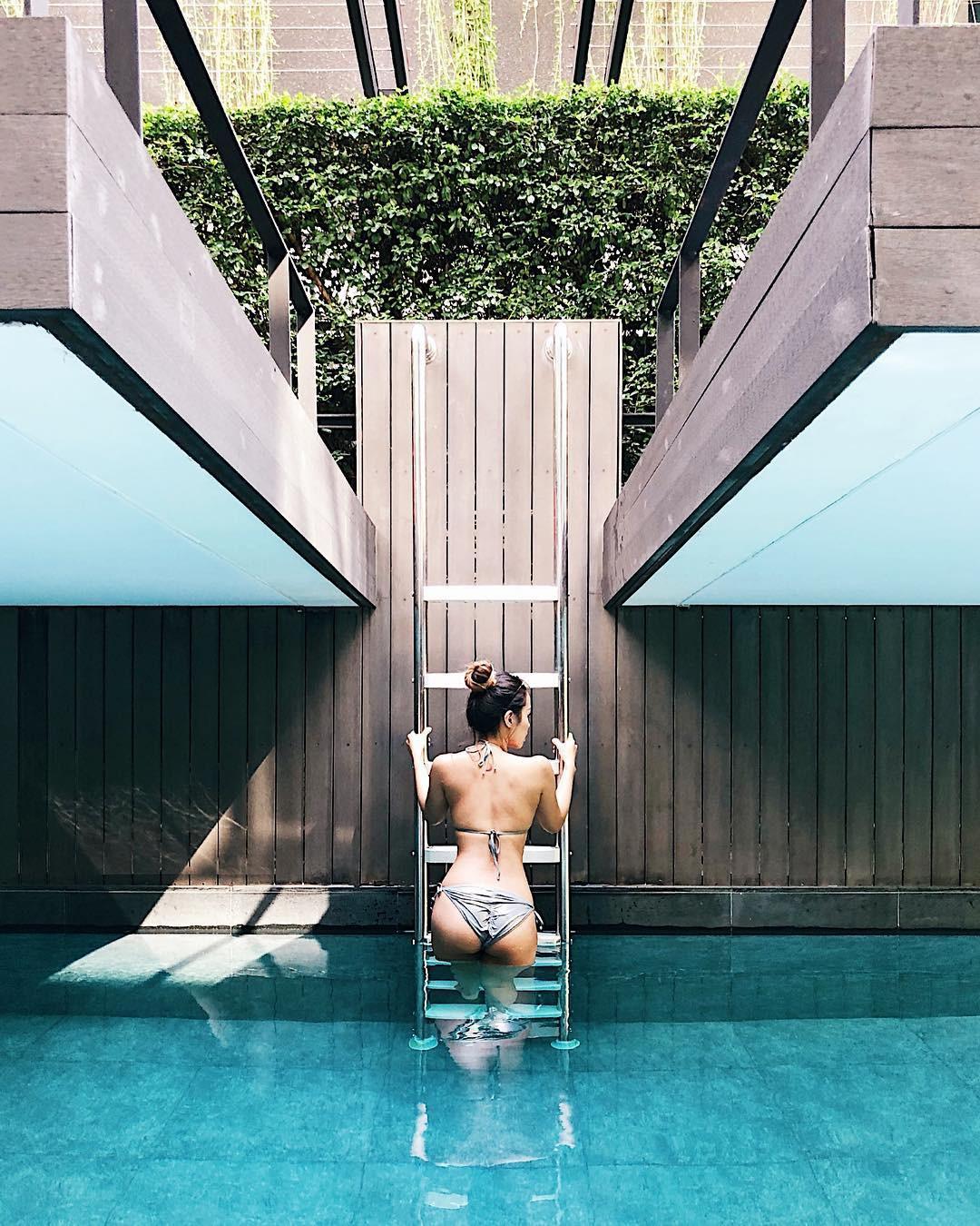 Chưa đến hè mà hot girl Việt đã sexy hết cỡ với bikini rồi! - Ảnh 10.
