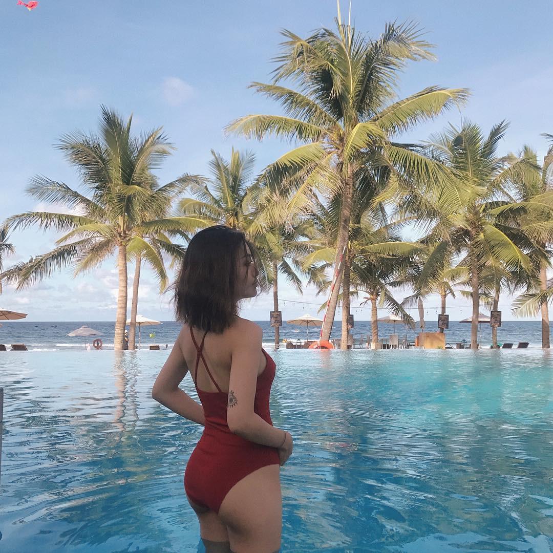 Chưa đến hè mà hot girl Việt đã sexy hết cỡ với bikini rồi! - Ảnh 16.