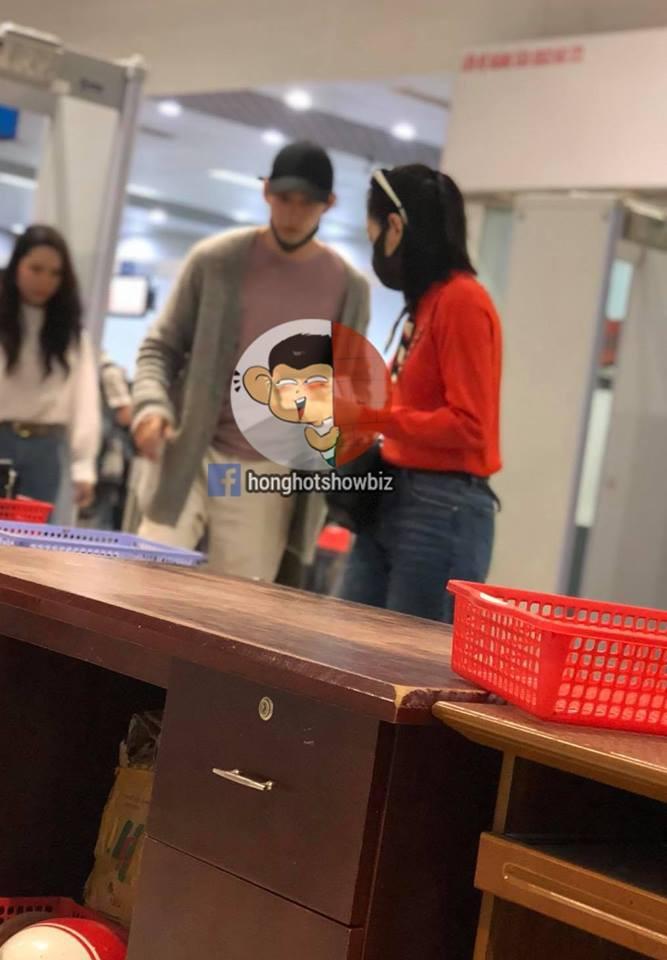 Chi Pu tiếp tục bị bắt gặp sánh đôi bên Jin Ju Huyng tại sân bay Đà Lạt - Ảnh 1.