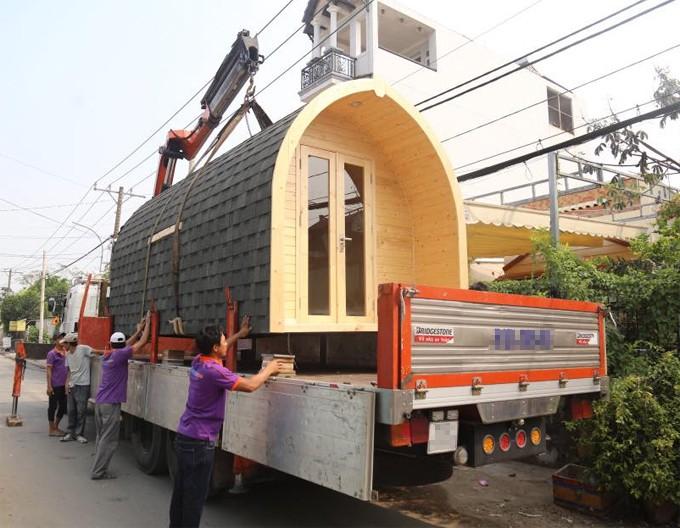 Ngôi nhà 140 triệu ở <a target='_blank' data-cke-saved-href='http://thongtinthoidai.vn/tag/sai-gon' href='http://thongtinthoidai.vn/tag/sai-gon'><i>Sài Gòn</i></a> có thể tháo lắp vận chuyển đi khắp nơi khiến nhiều người thích thú - Ảnh 2.