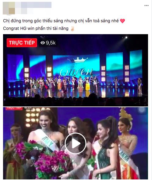 Khoảnh khắc Hương Giang một mình trong góc tối rồi toả sáng trên sân khấu với giải Tài năng đang hot trên mạng xã hội - Ảnh 4.