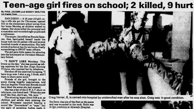 40 năm trước, một vụ xả súng vào trường học đã gây chấn động thế giới, động cơ của hung thủ khiến ai cũng rợn người - Ảnh 2.