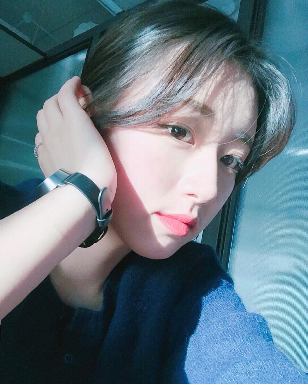 Nhan sắc nhẹ nhàng đúng chuẩn mối tình đầu của cô bạn đến từ Hàn Quốc - Ảnh 3.