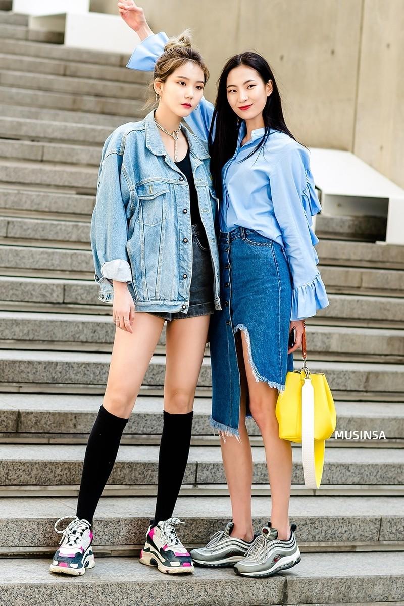 Street style đơn giản, năng động của giới trẻ Hàn không những không nhàm chán mà còn khiến bạn thốt lên Đẹp quá đáng! - Ảnh 2.