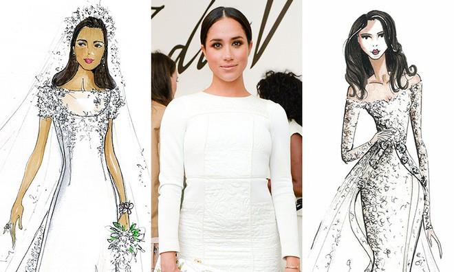 Vài thông tin nhỏ giọt xung quanh chiếc váy mà Meghan Markle sẽ mặc trong lễ cưới Hoàng gia sắp tới - Ảnh 2.