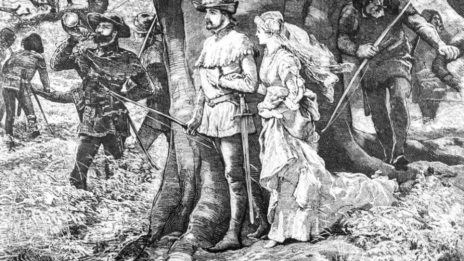 """Huyền thoại Robin Hood từng trốn trong cây sồi này, nhưng đó chỉ là một trong những bí mật về """"báu vật cổ thụ"""" nước Anh - Ảnh 2."""