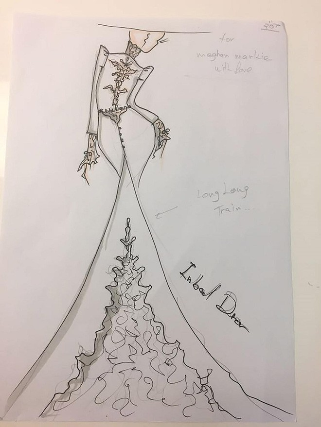 Vài thông tin nhỏ giọt xung quanh chiếc váy mà Meghan Markle sẽ mặc trong lễ cưới Hoàng gia sắp tới - Ảnh 8.