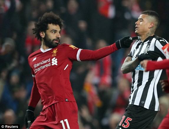 Salah dẫn đầu danh sách Vua phá lưới, Liverpool lên thứ 2 - Ảnh 3.