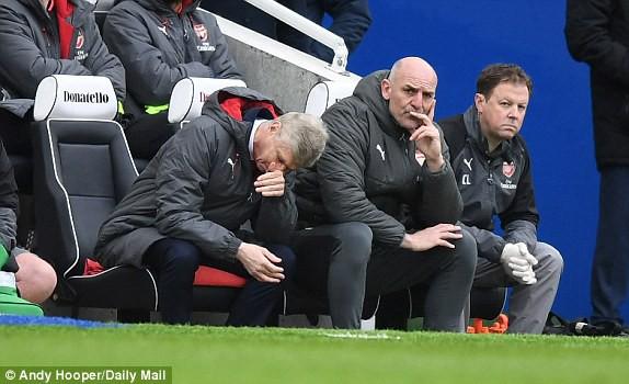 Arsenal thua 4 trận liên tiếp, phá kỷ lục buồn sau 16 năm - Ảnh 3.