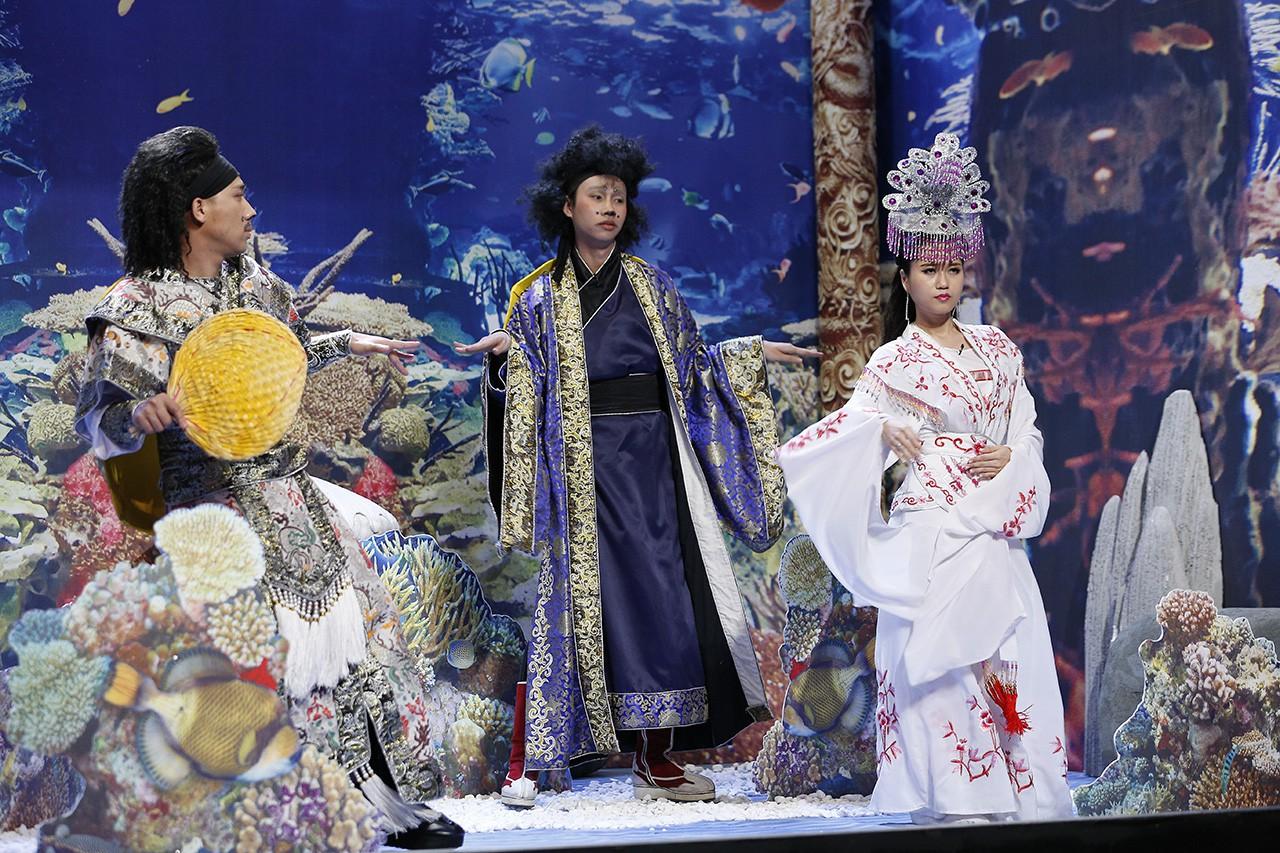 Ơn giời: Giám khảo Hoài Linh xúc động vì Nam Em đã bớt phá rối, đối phó khôn khéo trước Trường Giang - Ảnh 6.