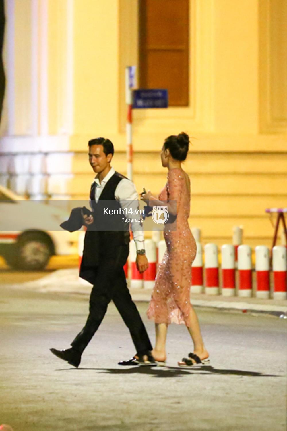 Clip: Rời sự kiện, Hà Hồ lái xe chở Kim Lý vượt đèn đỏ lúc nửa đêm - Ảnh 13.