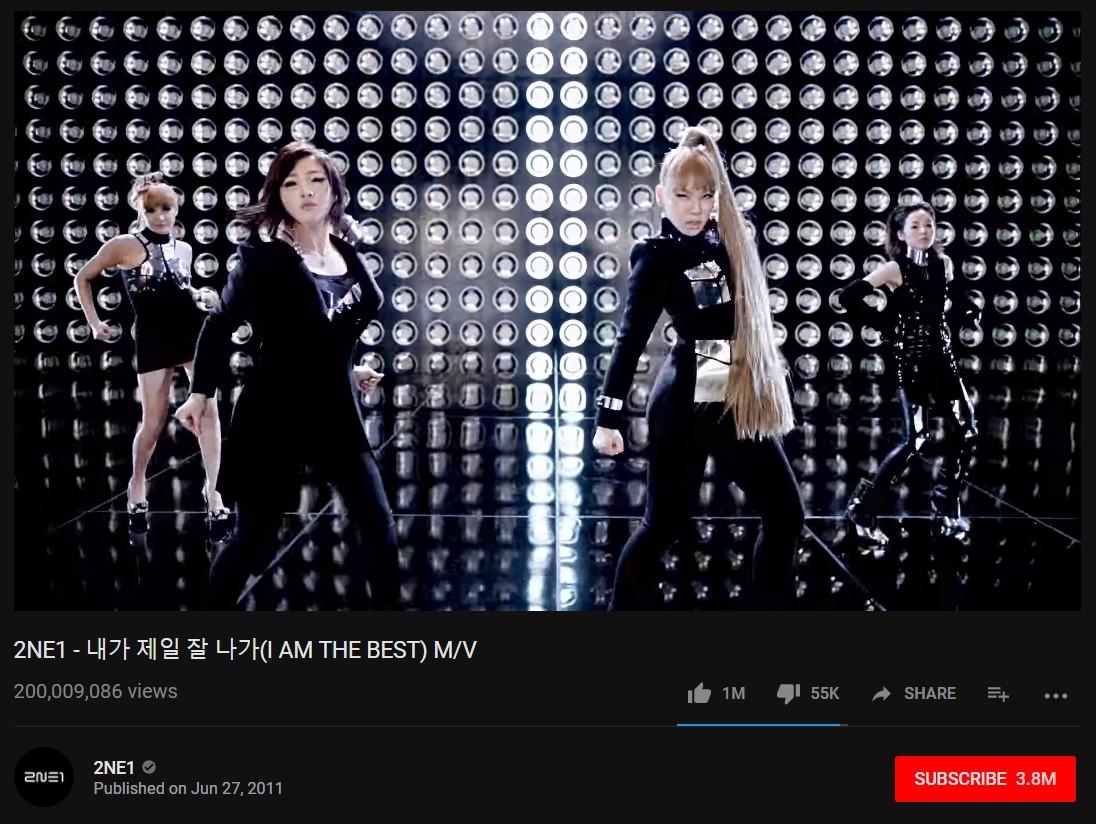 Tan rã hơn 1 năm, 2NE1 mới có MV 200 triệu view đầu tiên trong sự nghiệp - Ảnh 1.
