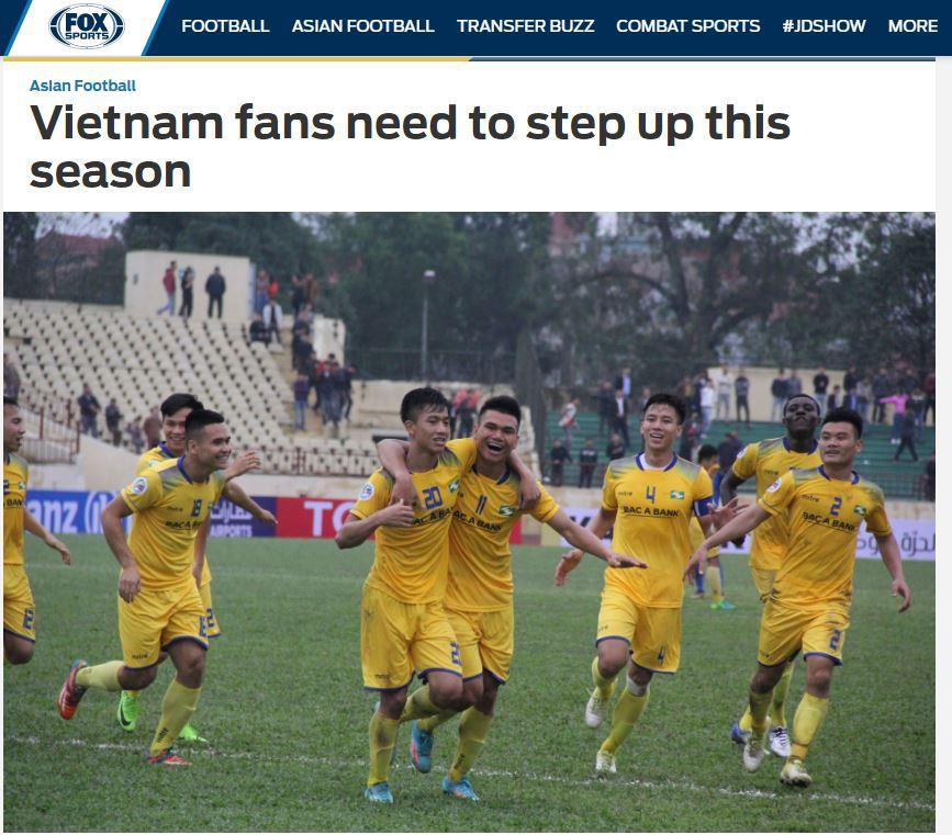 Báo châu Á thúc giục khán giả Việt Nam đến sân xem V.League - Ảnh 1.