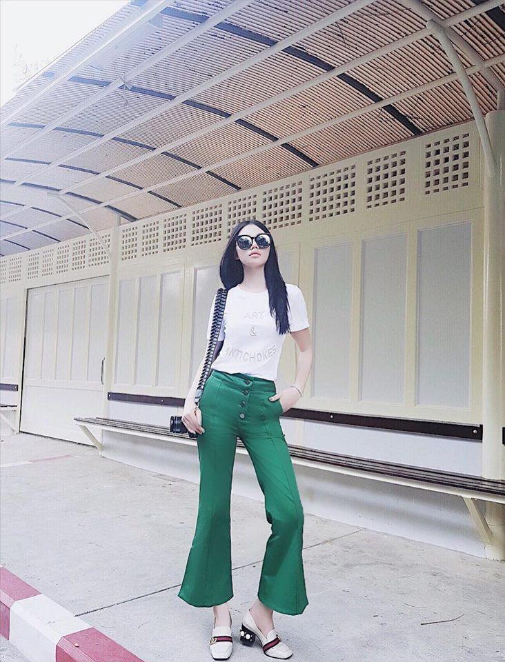 Hè chưa về mà các sao Việt đã lên đồ street style tưng bừng với sắc màu rực rỡ - Ảnh 3.