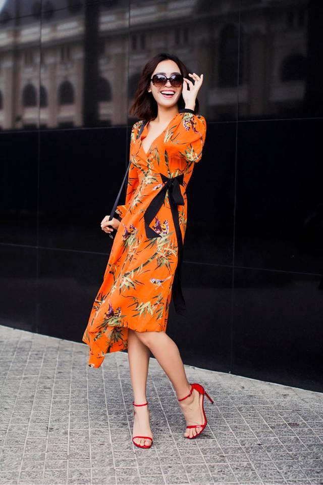 Hè chưa về mà các sao Việt đã lên đồ street style tưng bừng với sắc màu rực rỡ - Ảnh 6.