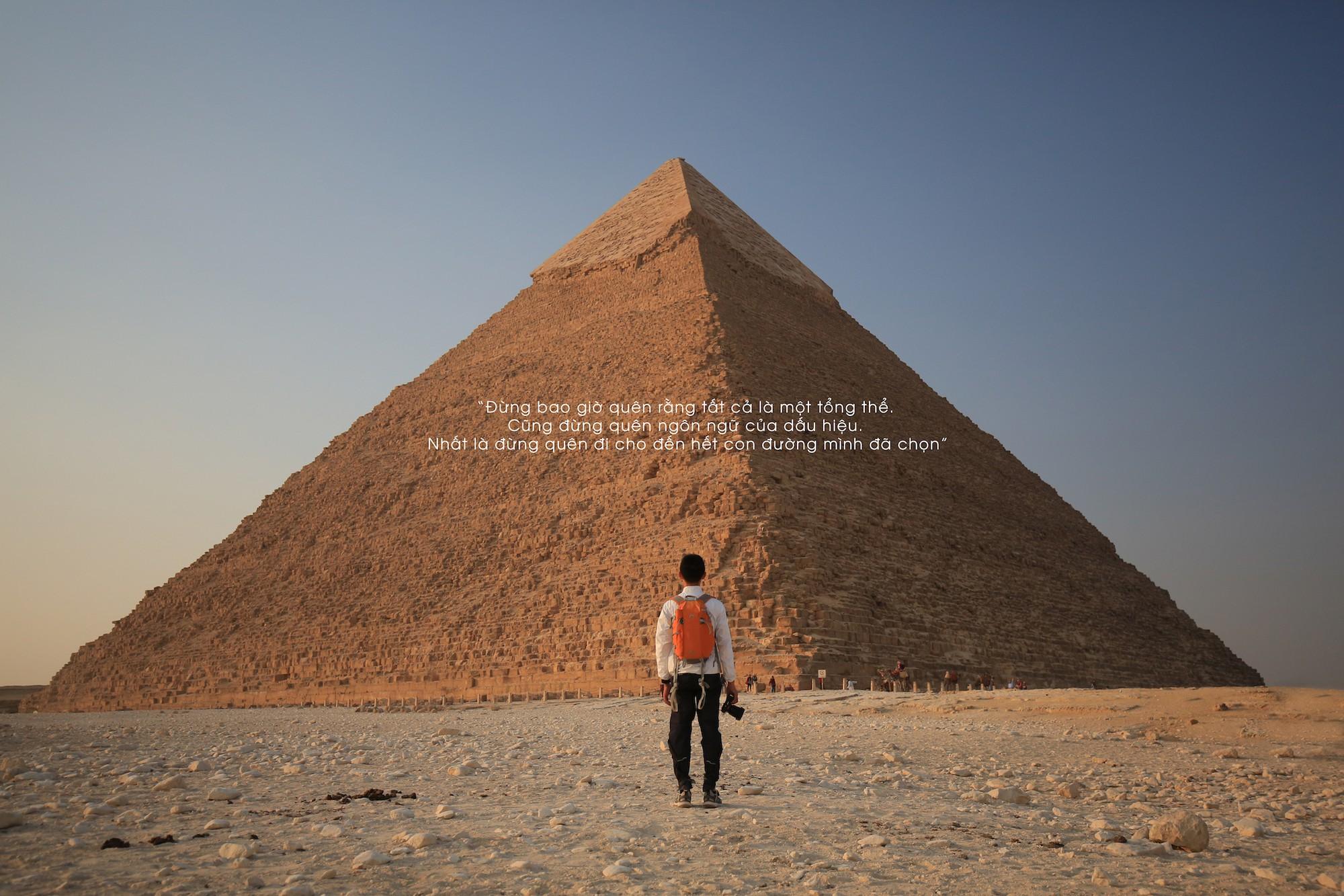 Ai Cập đẹp hơn tất cả những gì chúng ta vẫn tưởng tượng trong bộ ảnh mới nhất của Tâm Bùi - Ảnh 2.
