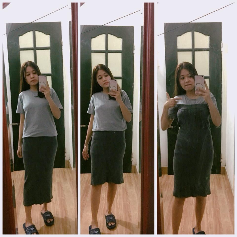 Đặt mua váy trên mạng, thiếu nữ cao 1m68 kêu trời vì phải kéo đến tận nách mới mặc vừa - Ảnh 2.