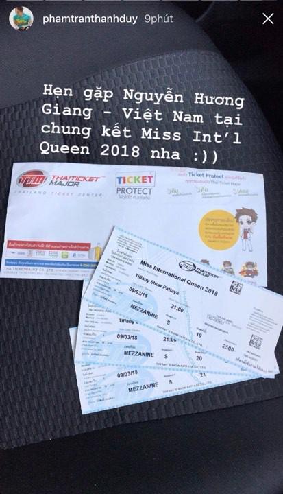 Sao Việt gửi lời nhắn tới Hương Giang trước thềm chung kết Hoa hậu Chuyển giới Quốc tế 2018 - Ảnh 2.
