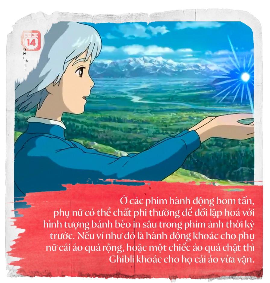 Tuyên ngôn nữ quyền của Ghibli: Phụ nữ, họ là ai? - Ảnh 7.