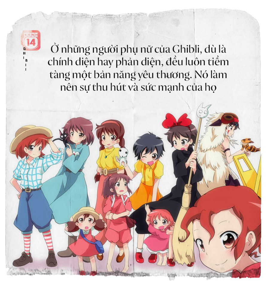 Tuyên ngôn nữ quyền của Ghibli: Phụ nữ, họ là ai? - Ảnh 12.