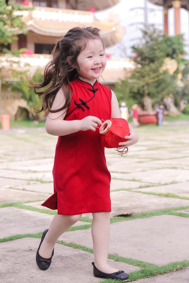 """Ngắm những """"công chúa lai"""" siêu đáng yêu của nhà sao Việt - Ảnh 6."""