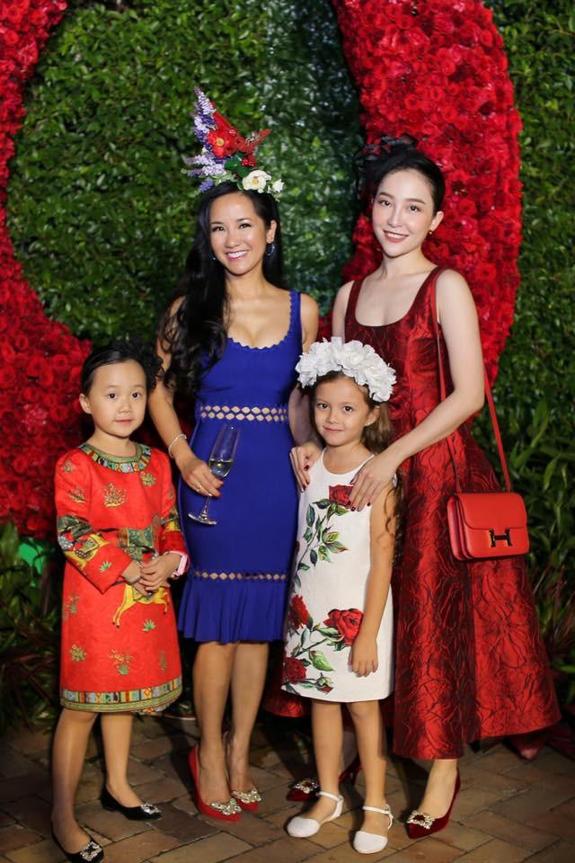 """Ngắm những """"công chúa lai"""" siêu đáng yêu của nhà sao Việt - Ảnh 13."""