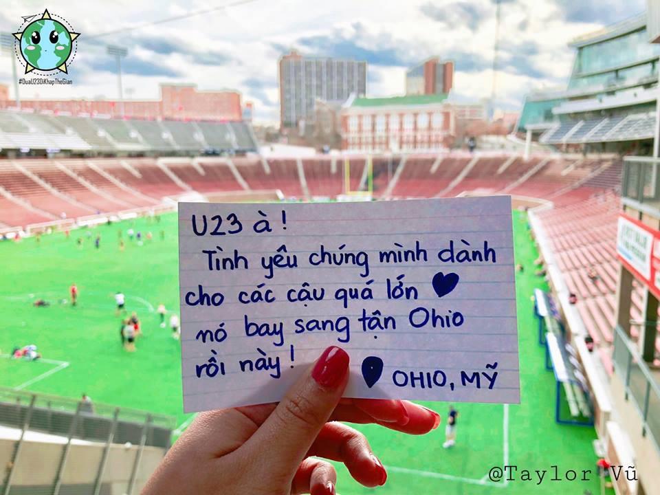 Đưa U23 đi khắp thế gian: fan bóng đá Việt ngọt ngào quá đi thôi! - Ảnh 4.
