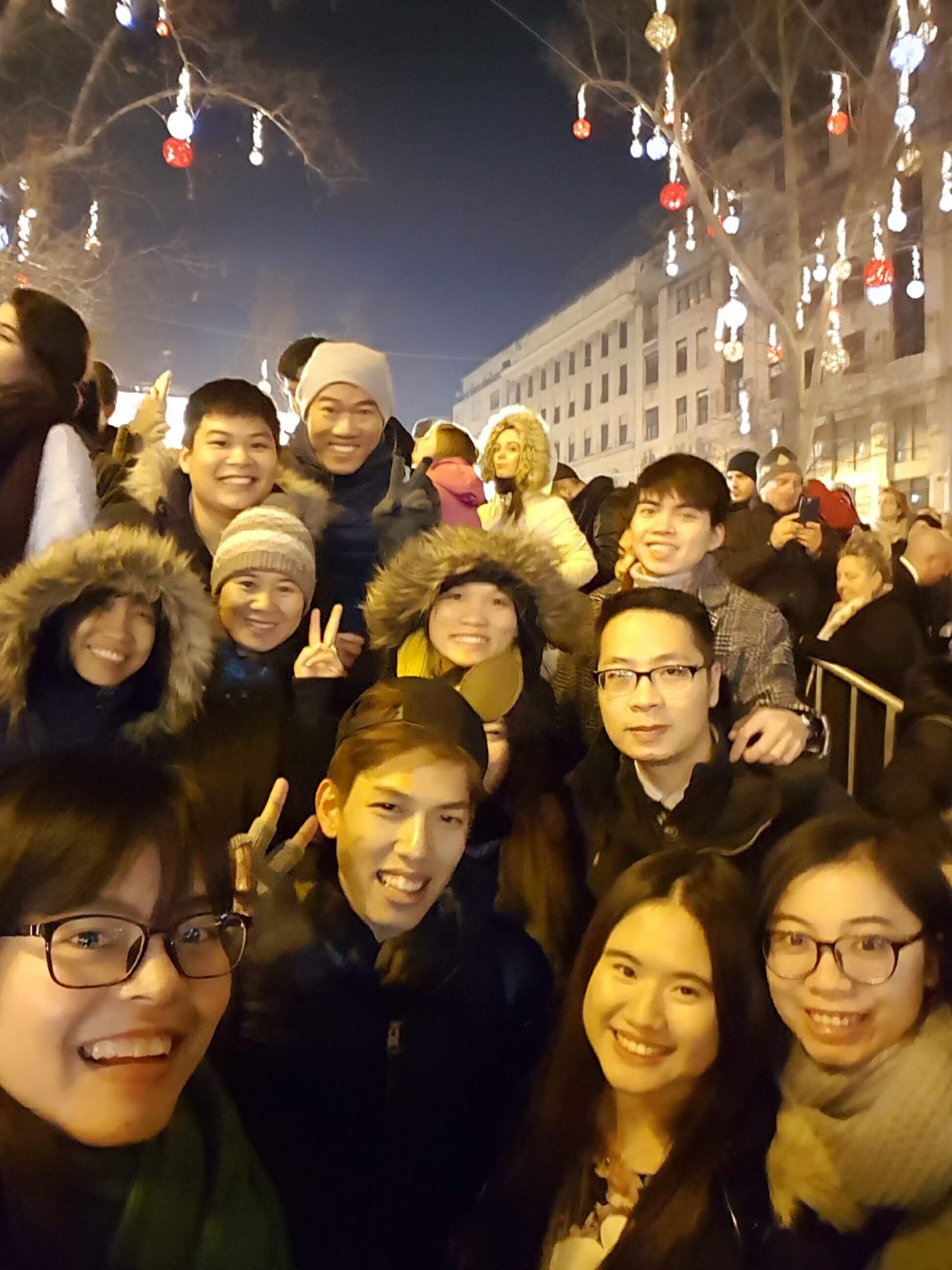 Du học sinh Việt hòa mình vào không khí chào năm mới khắp thế giới - Ảnh 25.