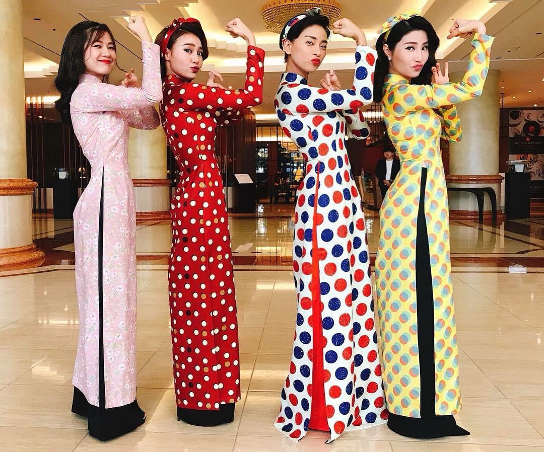 Năm 2017, nhờ phim Việt mà áo dài lên ngôi, được giới trẻ diện nhiều không thua kém các hot trend thời thượng - Ảnh 6.