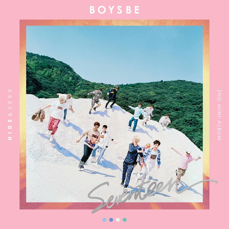 Znalezione obrazy dla zapytania seventeen boys be album cover