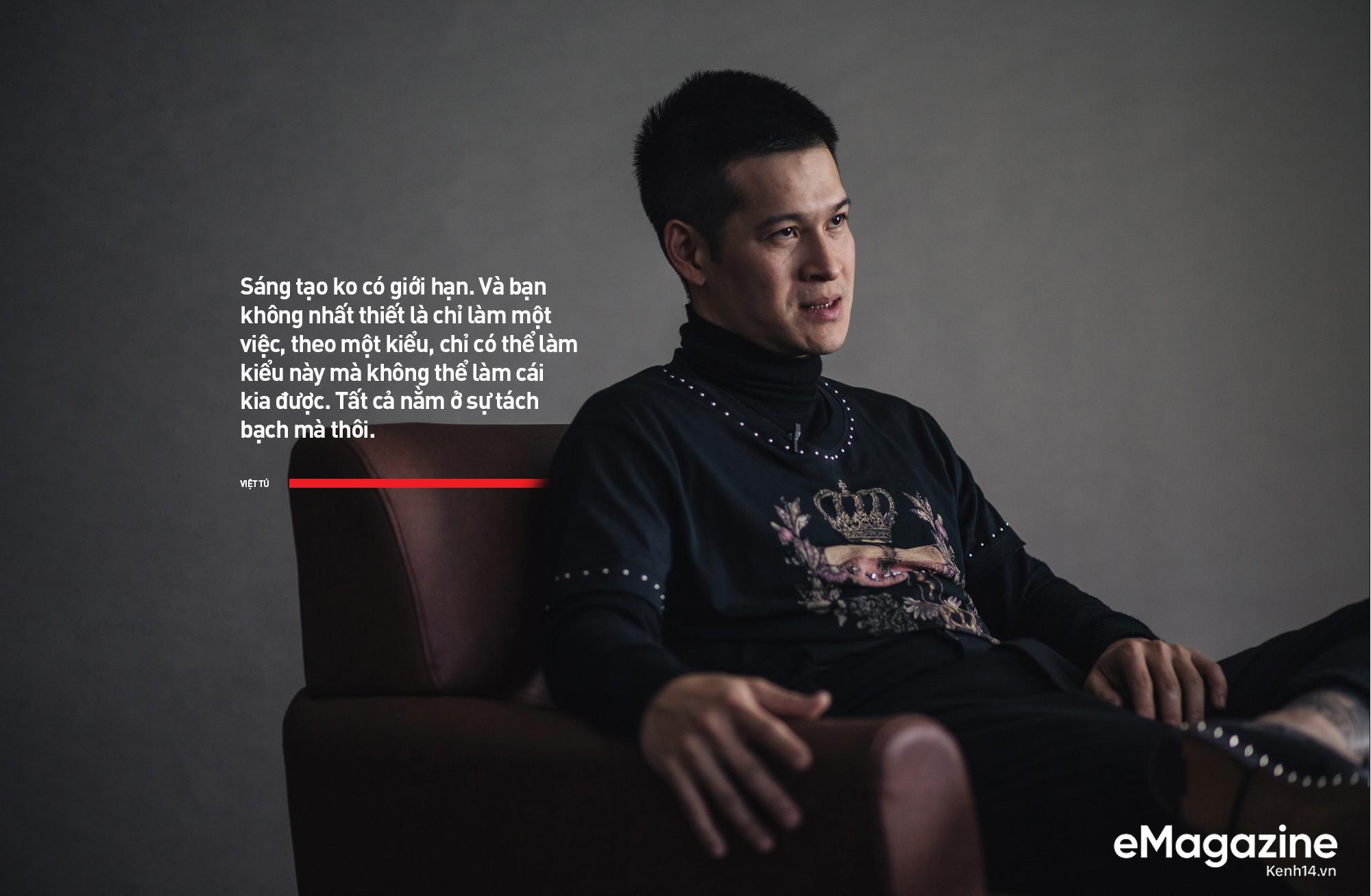 Đạo diễn Việt Tú: Ở Việt Nam, đa phần nghệ sĩ chưa biết quý trọng chất xám, và điều đấy khiến họ vất vả - Ảnh 18.