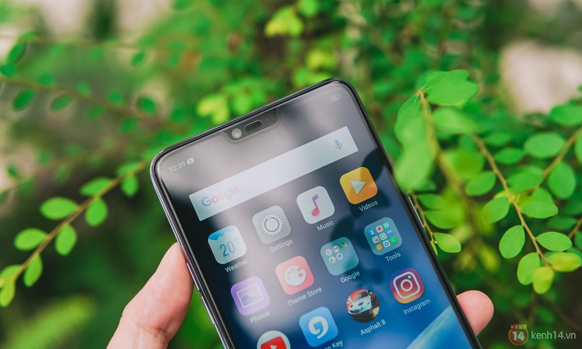 Mở hộp OPPO F7 màu bạc lấp lánh: Selfie bằng AI cực đẹp, màn hình FullView kèm tai thỏ như iPhone X - Ảnh 7.